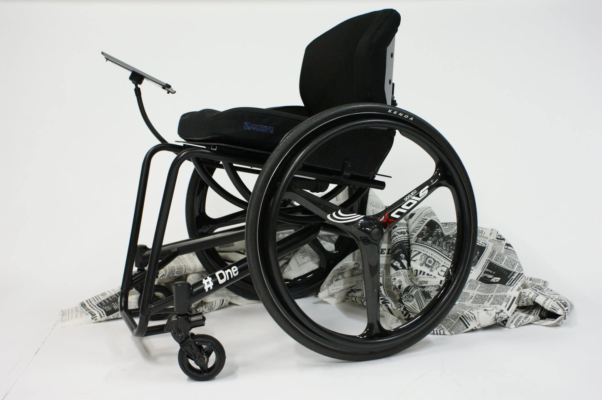 De nieuwe rolstoel # One